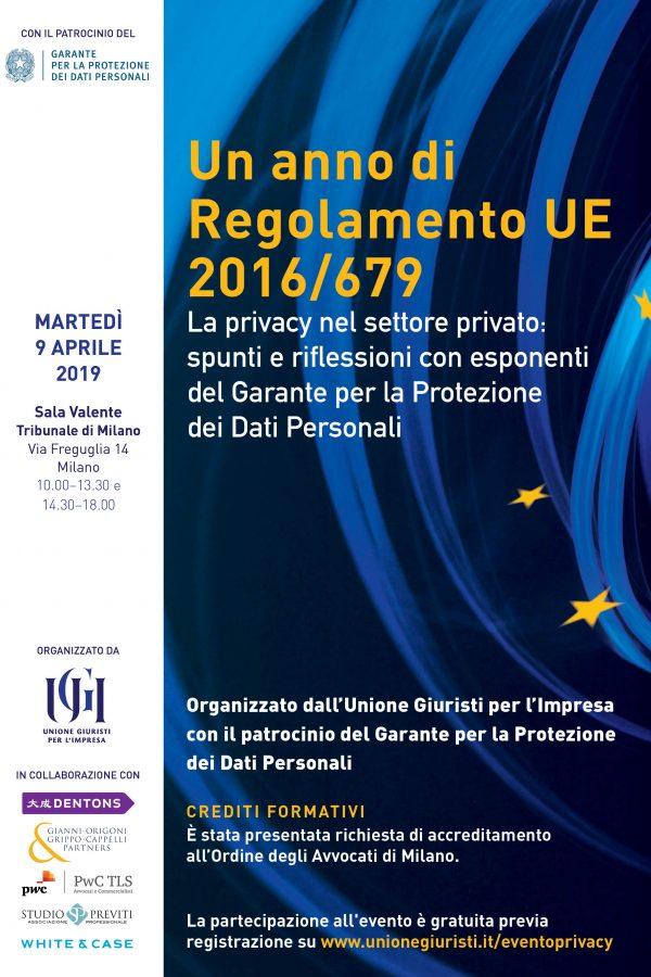 Evento UGI - Garante Privacy